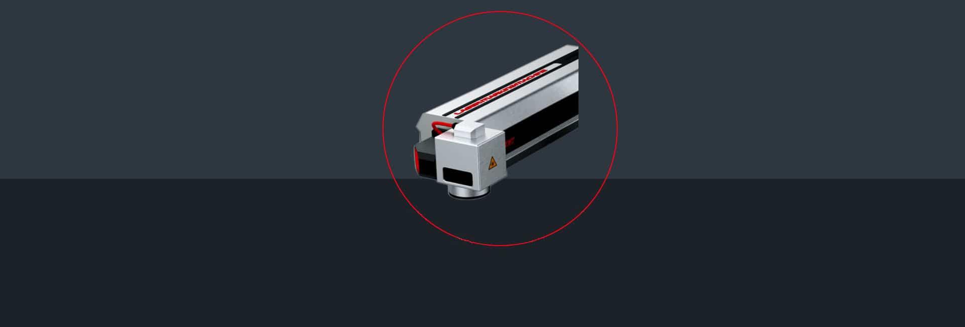 Лазерний маркувальник Fastjet F8100 лазерна голівка