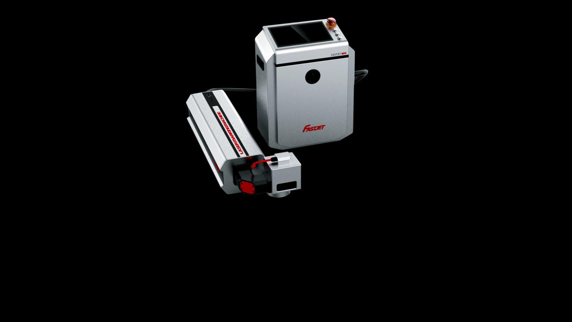 Лазерний маркувальник Fastjet F8100 загальний вигляд