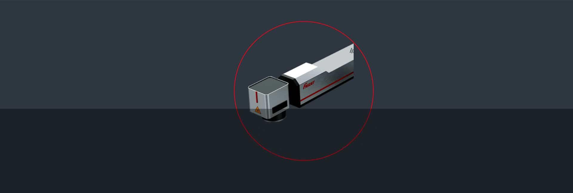 Лазерний маркувальник Fastjet F8200 лазерна голівка