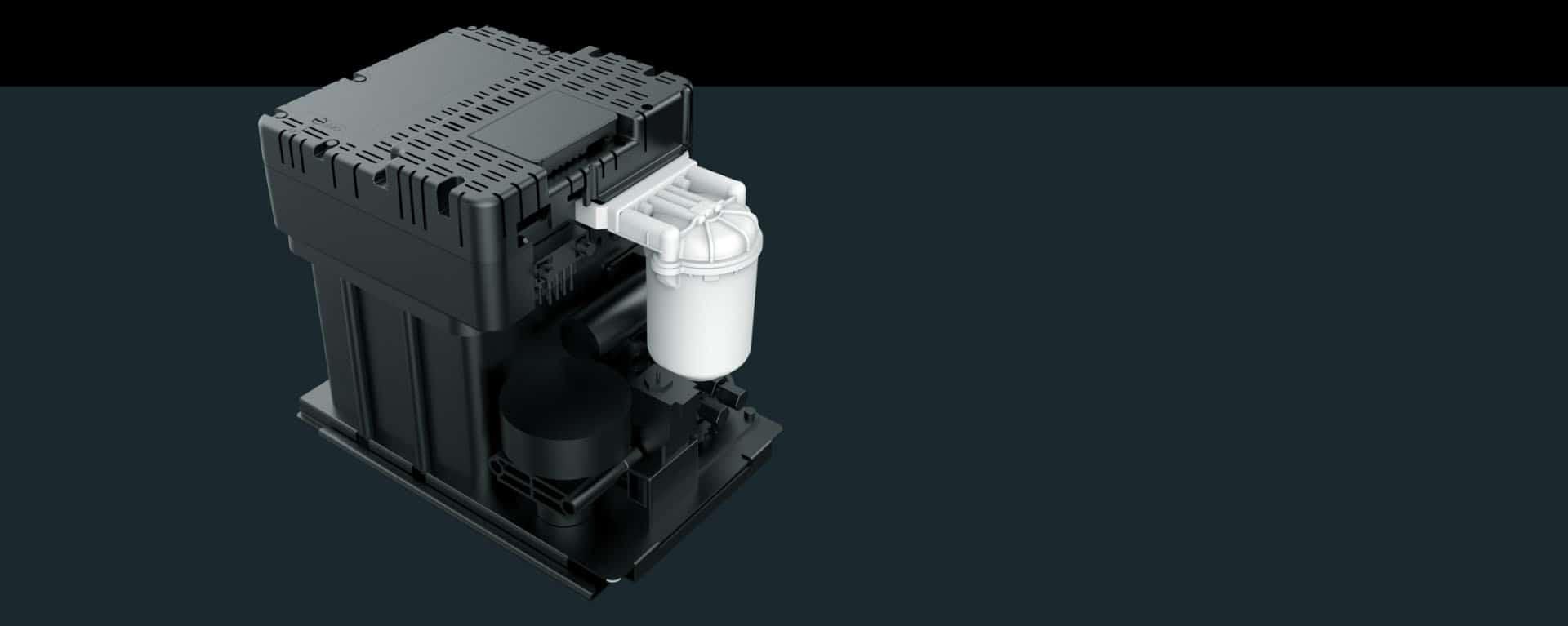Краплеструменевий маркувальник Fastjet F550 Plus Fastjet F530 Plus гідравлична система